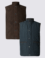 Collezione Tailored Fit Suede Reversible Gilets