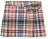 Ralph Lauren Pleated Madras Skirt