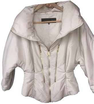 Barbara Bui Beige Leather Jacket for Women