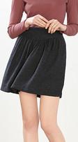 Esprit Textured tweed skirt w elegant silk
