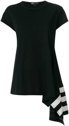 Y-3 asymmetric hem T-shirt