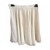 Celine Green Silk Skirt