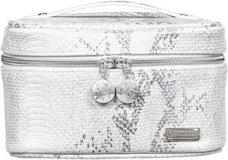 Stephanie Johnson Cairo White Louise Travel Makeup Bag