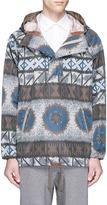 Kolor Tribal print anorak