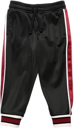 Dolce & Gabbana Acetate Sweatpants W/ Side Bands