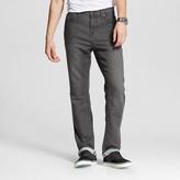 Mossimo Men's Slim Straight Knit Jeans Grey