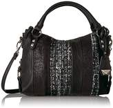 Jessica Simpson Ryanne Patchwork Xbody Small Top Zip Tote