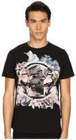 Just Cavalli Pin Up Girl Graphic Short Sleeve Tee