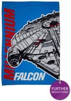 Star Wars Millennium Falcon Fleece Blanket