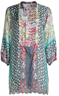 Johnny Was Fyfe Floral Tunic