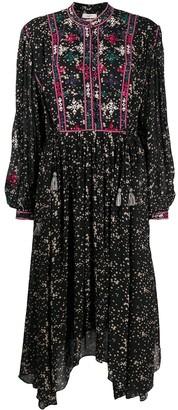 Etoile Isabel Marant Floral Print Flared Dress