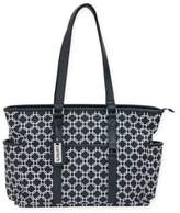 Carter's Studio Geo Print Tote Diaper Bag in Grey