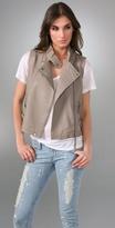 IRO Manith Leather Vest
