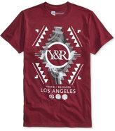 Young & Reckless Men's Folk Customs Graphic-Print Logo T-Shirt