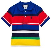 Ralph Lauren Multi Stripe Pique Polo