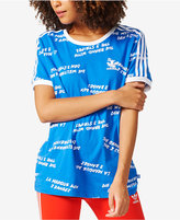 adidas Three-Stripe T-Shirt