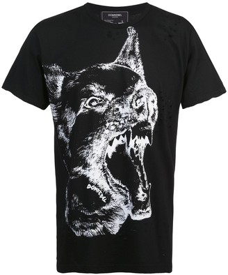Dom Rebel Dogg print T-shirt