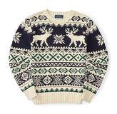 Ralph Lauren Reindeer Cotton Sweater