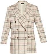 Isabel Marant Telis double-breasted checked jacket