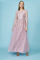 Thumbnail for your product : Coast Long Sleeve Embroidered Maxi Dress