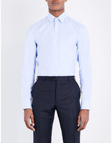 Gieves & Hawkes Gieves & Hawkes Tailored-fit Striped Cotton Shirt