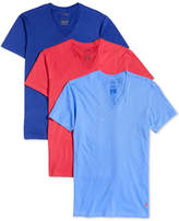 Polo Ralph Lauren Men's Classic Fit V-Neck T-Shirts, 3-Pack
