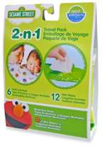 Disney Hamco Neat Solutions Sesame Street Changing Pads & Wet Wipes