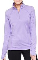 JCPenney XersionTM 1/4-Zip Pullover Tee