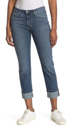 Joe's Jeans Mid Rise Crop Straight Leg Jeans