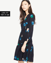 Ann Taylor Tulip Tiered Dress