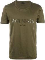 Balmain logo T-shirt - men - Cotton - XL