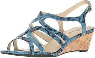 Annie Shoes Women's Aspen W Espadrille Wedge Sandal