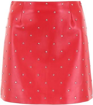 Miu Miu Studded Mini Skirt