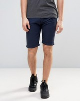 Armani Jeans 5 Pocket Slim Fit Shorts In Navy