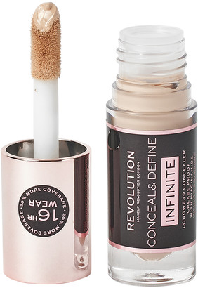 Makeup Revolution Conceal & Define Infinite Longwear Concealer C4
