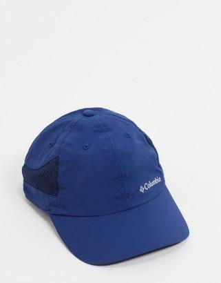 Columbia Tech Shade cap in blue