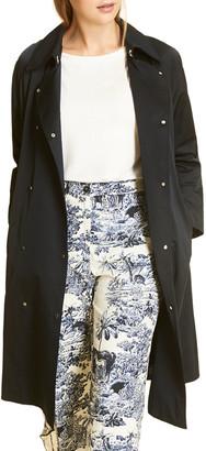 Marina Rinaldi Plus Size Tulipano Raglan-Sleeve Trench Coat