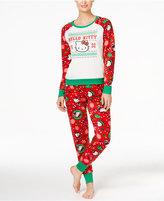 Hello Kitty Holly Jolly Kitty Christmas Pajama Set