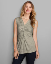 Eddie Bauer Women's Girl On The Go® Sleeveless Twist Top