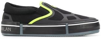 Marcelo Burlon County of Milan Cross logo slip-on sneakers