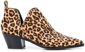 Dolce Vita Sonni leopard-print ankle boots