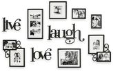 Bed Bath & Beyond Live Love Laugh 10-Piece Wall Collection And 3-Pack Add-On
