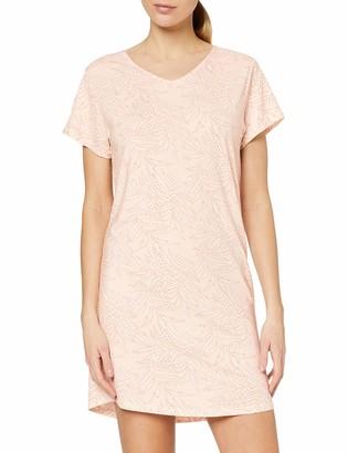 Skiny Women's Damen Nachthemd Kurz Nature Love Sleep Nightie