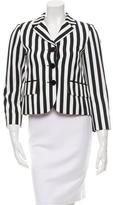 Marc Jacobs Striped Notch-Lapel Blazer