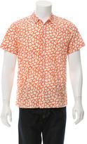 Orlebar Brown Printed Button-Up Shirt