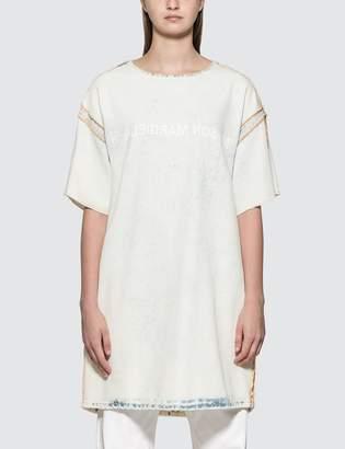MM6 MAISON MARGIELA Denim Logo Dress