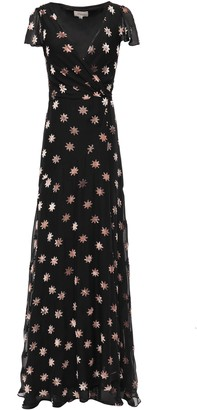 Temperley London Devore-chiffon Wrap Dress