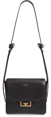 Givenchy Small Eden Stitched Lambskin Leather Shoulder Bag