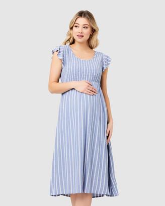Ripe Maternity Sofia Shirred Dress