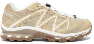 Salomon Xt-quest Mesh Trainers - Mens - Beige
